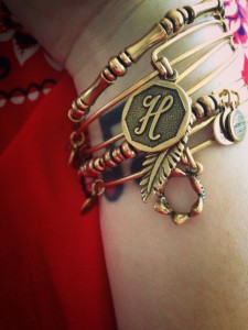 Alex & Ani positive energy bracelets. I have a bit of an addiction.