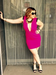 Dress: ASOS Shoes: Zara Necklace: Stella & Dot Bracelet: Various Sunnies: Chanel