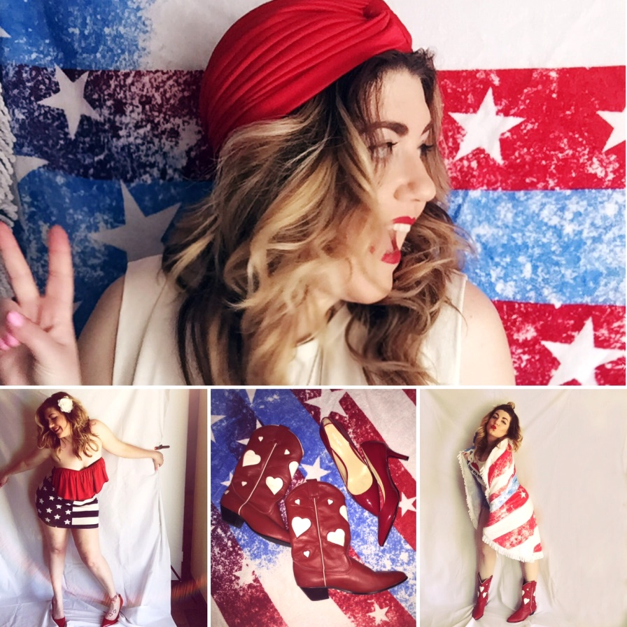 There are so many ways to add a patriotic piece to any look.